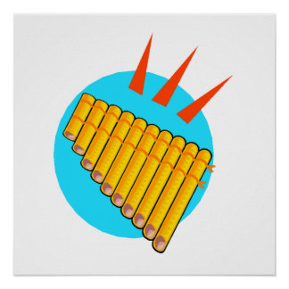 Pan Flute Posters