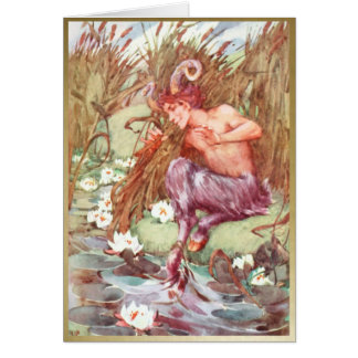 Pan - IN THE REEDS - Blank Card