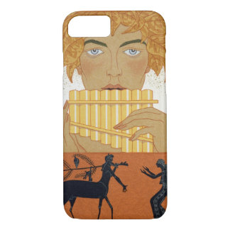 Pan Piper, illustration from 'Les Mythes' by Paul iPhone 7 Case