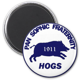 Pan Sophic Hogs Magnet
