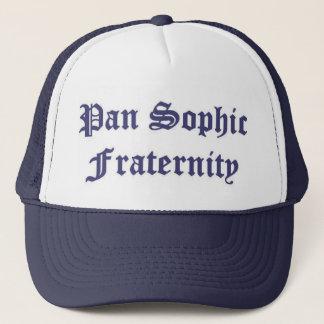 Pan Sophic Navy Trucker Hat