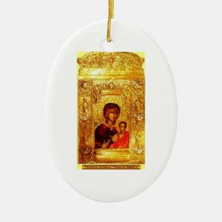 Panagia Soumela Icon Ornament