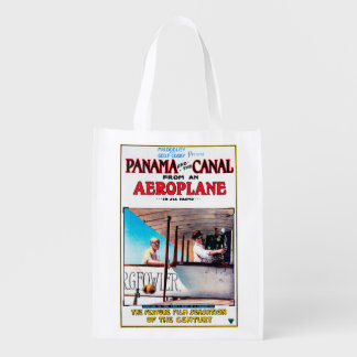 Panama and the Canal Aeroplane Movie Promo Poste