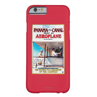 Panama and the Canal Aeroplane Movie Promo Poste Barely There iPhone 6 Case