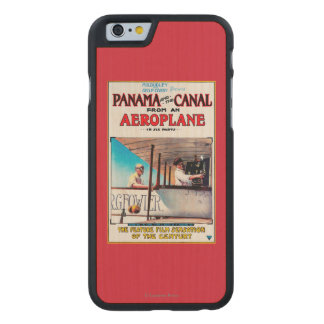 Panama and the Canal Aeroplane Movie Promo Poste Carved Maple iPhone 6 Case