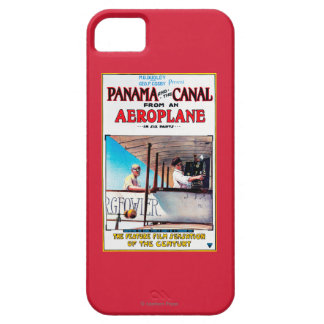 Panama and the Canal Aeroplane Movie Promo Poste iPhone 5 Cases