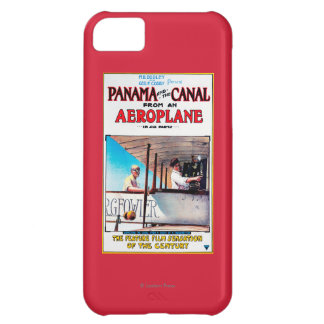 Panama and the Canal Aeroplane Movie Promo Poste iPhone 5C Case