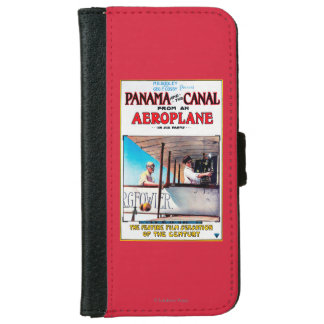 Panama and the Canal Aeroplane Movie Promo Poste iPhone 6 Wallet Case