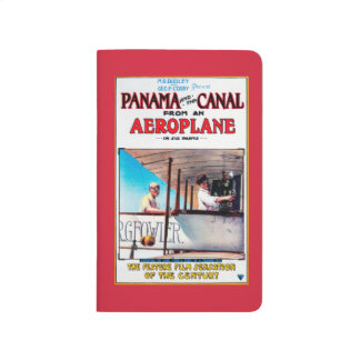 Panama and the Canal Aeroplane Movie Promo Poste Journal