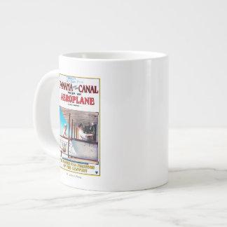 Panama and the Canal Aeroplane Movie Promo Poste Large Coffee Mug