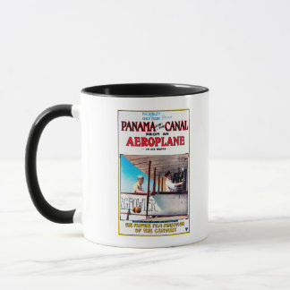 Panama and the Canal Aeroplane Movie Promo Poste Mug