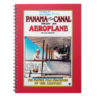 Panama and the Canal Aeroplane Movie Promo Poste Notebooks