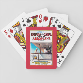 Panama and the Canal Aeroplane Movie Promo Poste Playing Cards