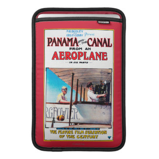 Panama and the Canal Aeroplane Movie Promo Poste Sleeve For MacBook Air