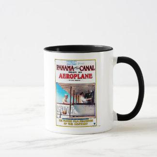 Panama and the Canal Aeroplane Movie Promo Poster Mug