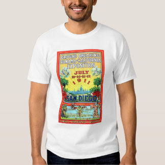 Panama - California Exposition in San Diego 1911 T Shirts