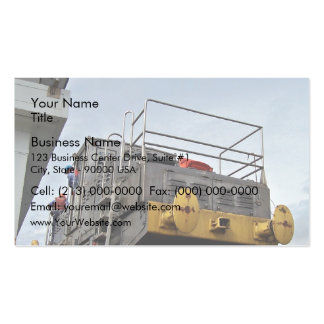 Panama Canal mules Business Card Templates