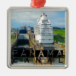 Panama Canal Souvenir Christmas Ornament