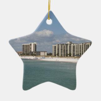Panama City Beach, Florida Ceramic Star Decoration