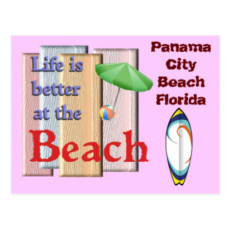 Panama City Beach Florida - Postcard