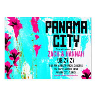 PANAMA CITY DESTINATION INVITATION