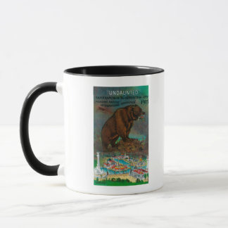 Panama Pacific International Expo Advertisement Mug