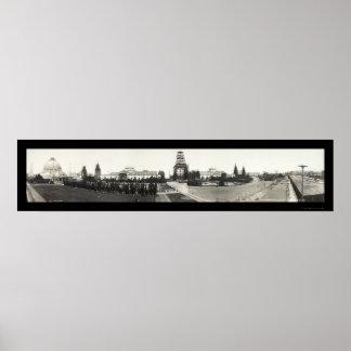 Panama Pacific San Francisco Photo 1914 Poster