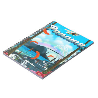 Panama River vacation print Notebooks