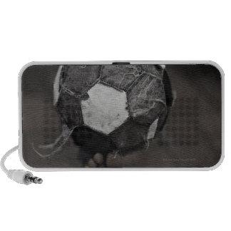 Panamanian street soccer laptop speaker