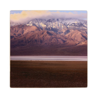 Panamint Range and Badwater Basin Wood Coaster
