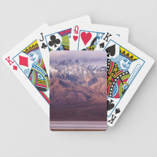 Panamint Range and Basin Bicycle Playing Cards
