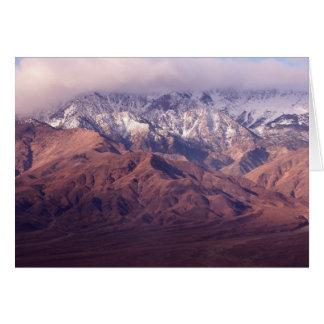 Panamint Range and Basin Card