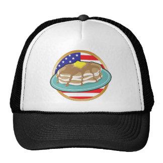 Pancake American Flag Cap