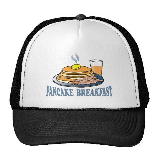 Pancake Bacon Juice Fundraiser Mesh Hats