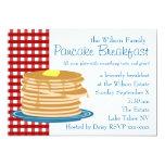 Pancake Breakfast Invitation