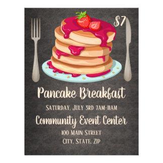 Pancake Breakfast  Promotional Flyer