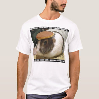 pancake bunny goes to bail with cowbell T-Shirt