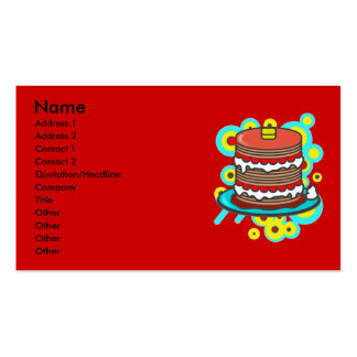 Pancake Business Cards