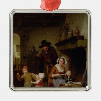 Pancake Day, 1845 Christmas Ornament