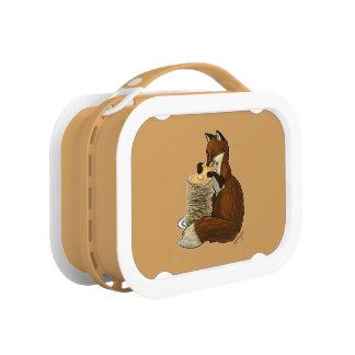 Pancake Fox Lunch Box