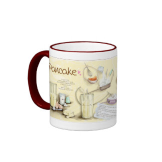 Pancake Recipe Coffee Mugs