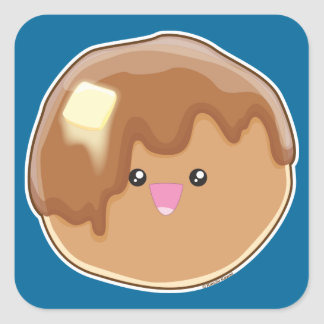 Pancake! Square Sticker