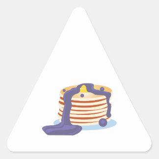 Pancake Stack Triangle Sticker