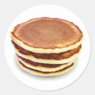 Pancake Round Sticker