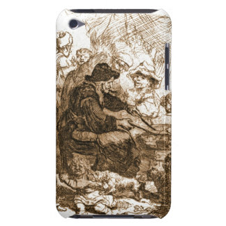 Pancake Woman 1660 Barely There iPod Cases