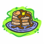 Pancakes Acrylic Cut Outs