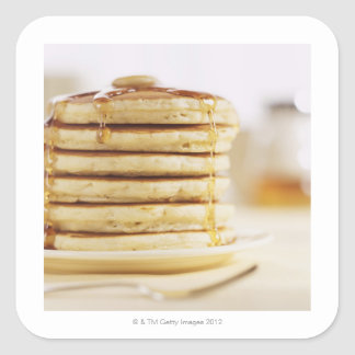 Pancakes and Melting Maple Syrup Stickers