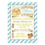 Pancakes and Pyjamas Birthday Party Invitations