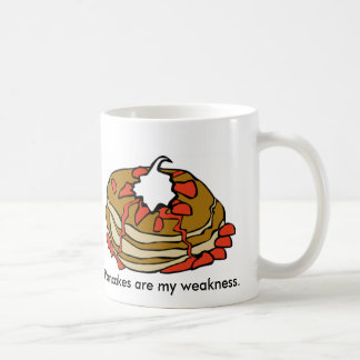 Pancakes Are My Weakness Coffee Mugs