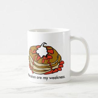 Pancakes Are My Weakness Coffee Mugs
